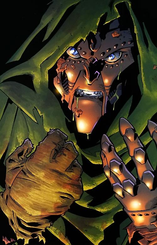 Doctor Doom - Ultimate Marvel Comics - Victor van Damme - Profile -  Writeups.org