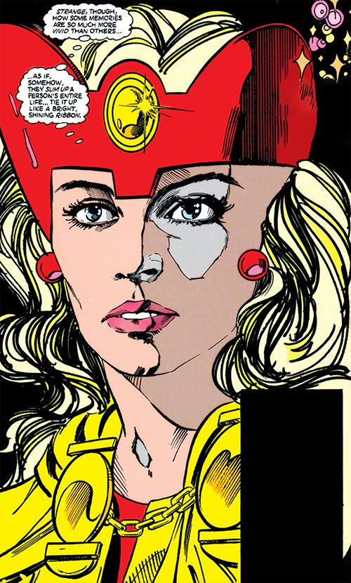 Fury Infinity Inc Dc Comics Lyta Hall Character