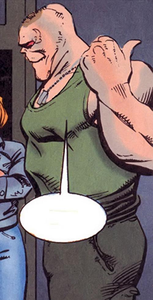 Gog SuperSoldiers Marvel comics UK Character