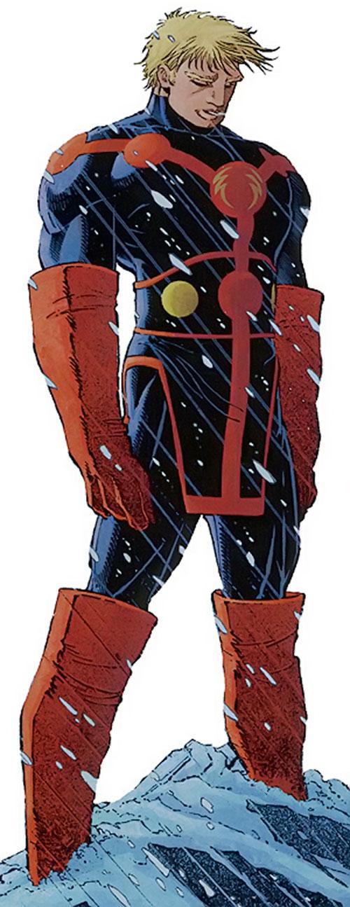 Ikaris  Marvel Comics  Eternals  Jack Kirby  Prime