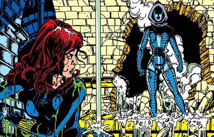 Iron Maiden  Marvel Comics  Black Widow foe  Vostokovna