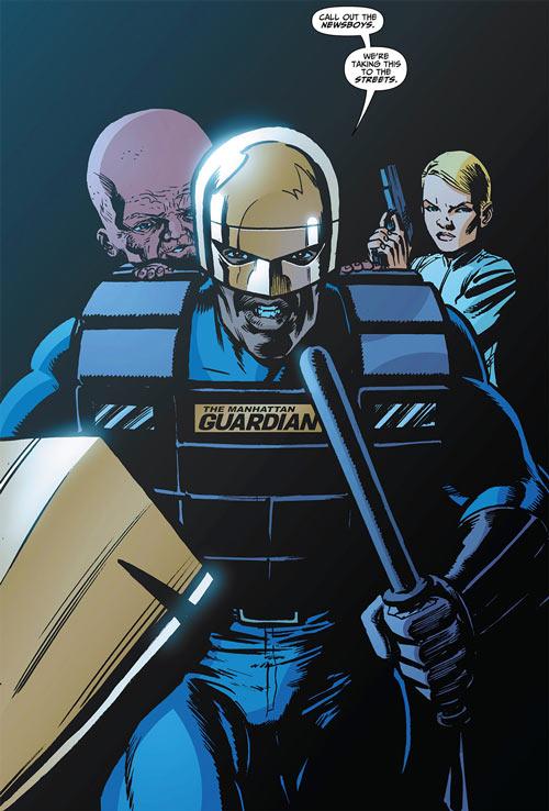 Manhattan Guardian  DC Comics  7 Soldiers  Grant Morrison  Profile  Writeupsorg