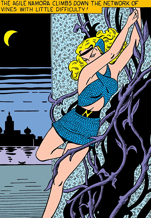 Namora - Timely | Marvel Comics - Golden Age - Character profile - Writeups.org