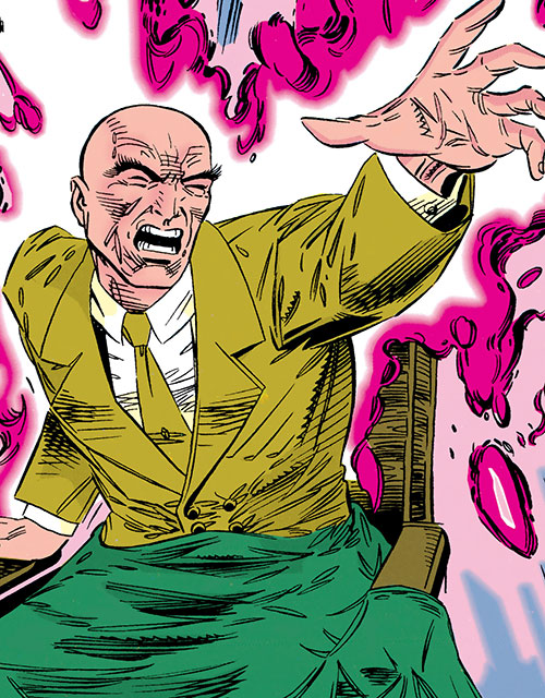 Prof Charles Xavier  Professor X  Marvel Comics  XMen