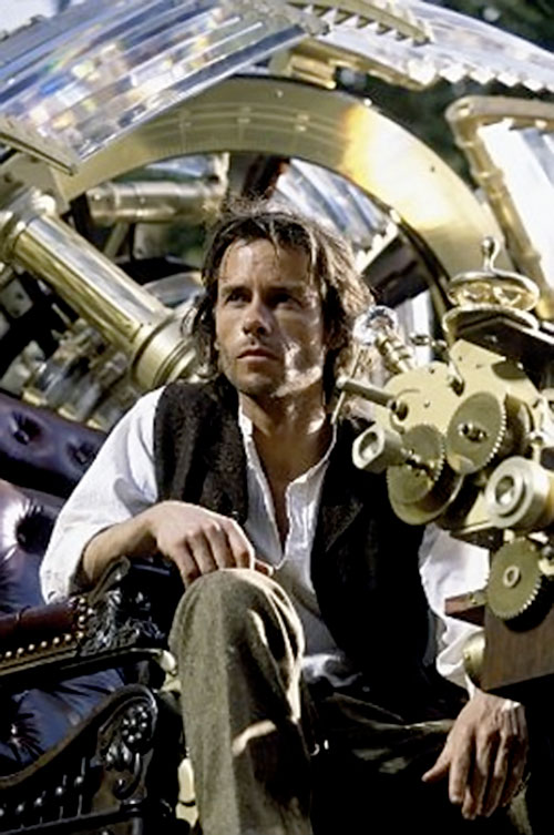 Time Traveler - Guy Pearce - 2002 movie - Writeups.org