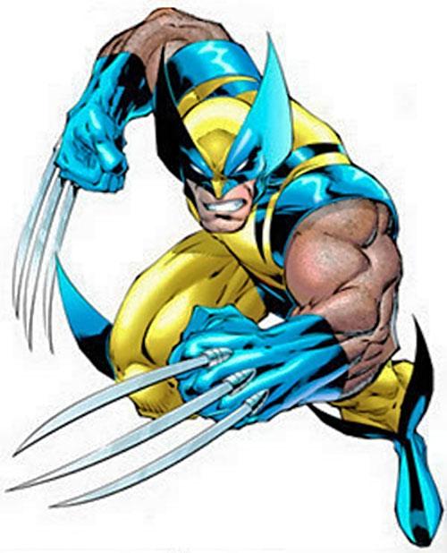 Wolverine Marvel Comics XMen Character profile bub