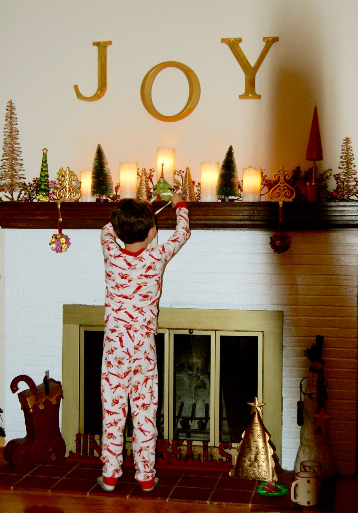 To My Firstborn on the Last Christmas You (Kind of Don't) Believe In Santa