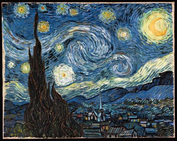 Art Criticism Vincent Van Gogh' Starry Night - Writework