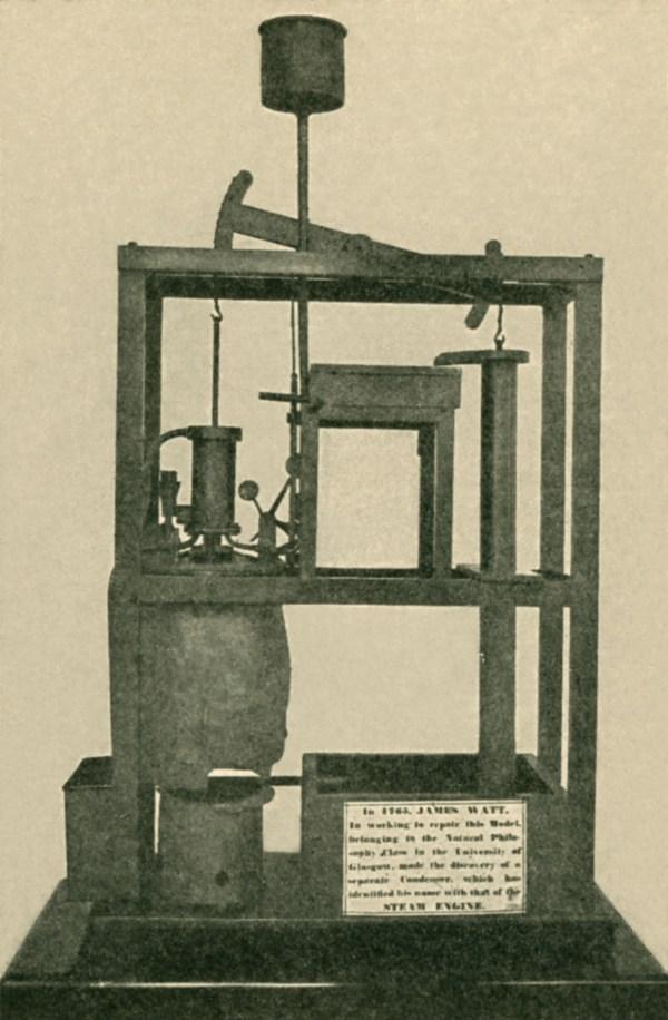 Development Of Steam Engine Due James Watt