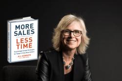 "BOOK REVIEW - ""More Sales, Less Time,"" by Jill Konrath"