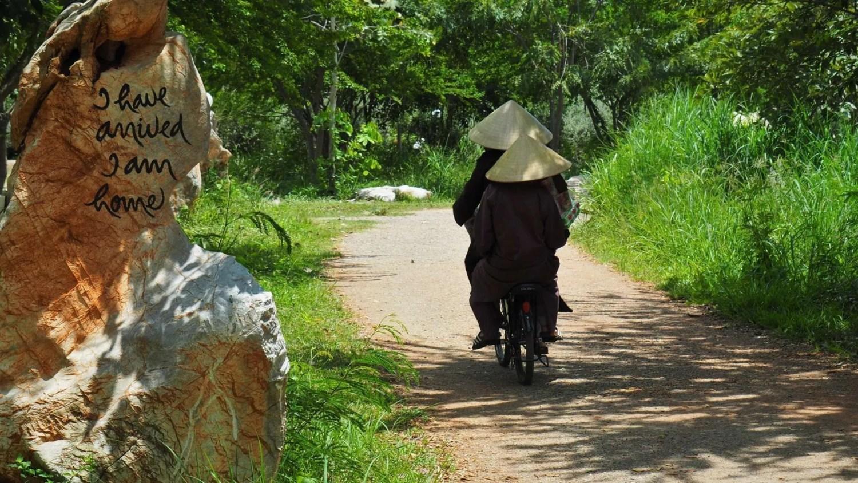Mindfulness: monks at Plum Village Thailand