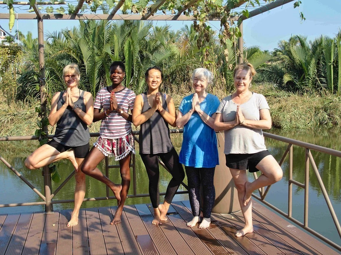 Writing and Yoga Retreat Vietnam - The writers group in Hoi An