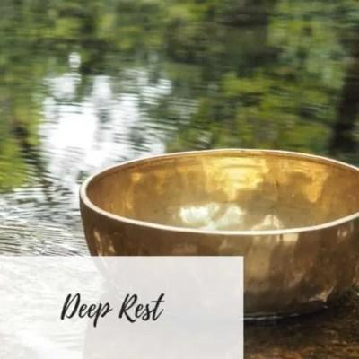 Write Your Journey | Singing Bowl Image | Deep Rest Meditation