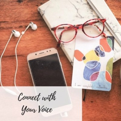Write Your Journey | Image of Phone and Notebook | Meditation to Connect with your Inner Voice