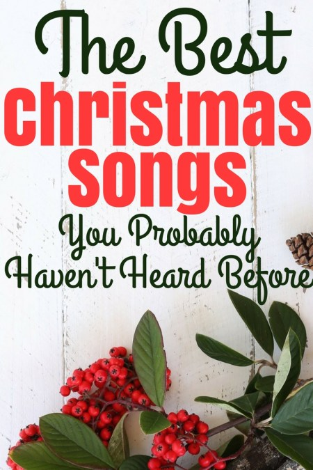 my 2 favorite christmas songs you probably havent heard before - Favorite Christmas Songs