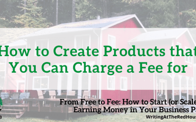 213 How to Create Products that You Can Charge a Fee for