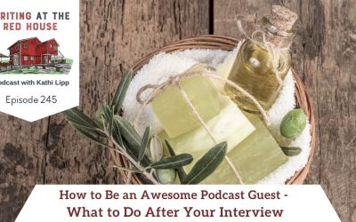 245 How to Be an Awesome Podcast Guest – What to do After Your Interview