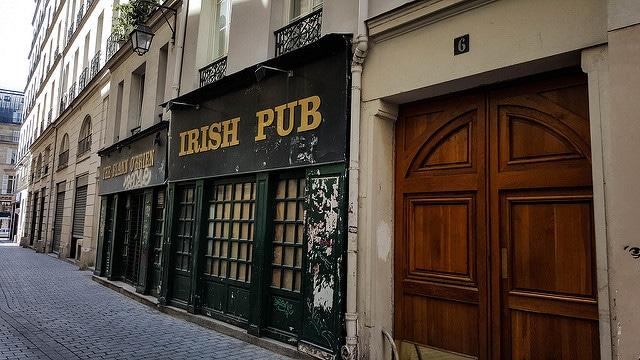 Traces of the Irish in Paris
