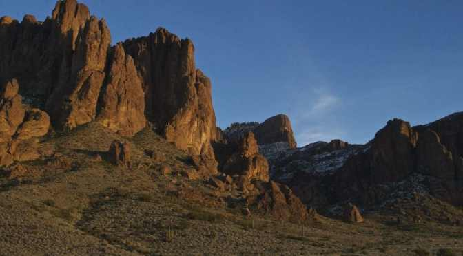 The Superstitions, mining and mayhem