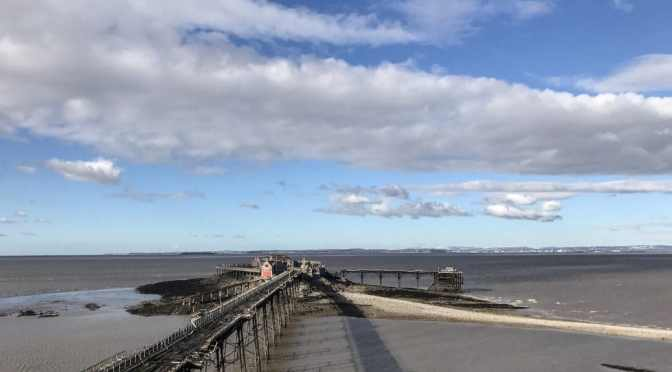 Space and splendour and Weston Super Mare