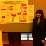 Alyssa-Rae Hug at CCCC 2012 Undergraduate Researcher Poster Session