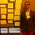 Jacoby Boles at CCCC 2012 Undergraduate Researcher Poster Session