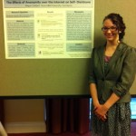 Megan Lambert at CCCC 2012 Undergraduate Researcher Poster Session