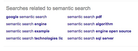 Semantic search 2