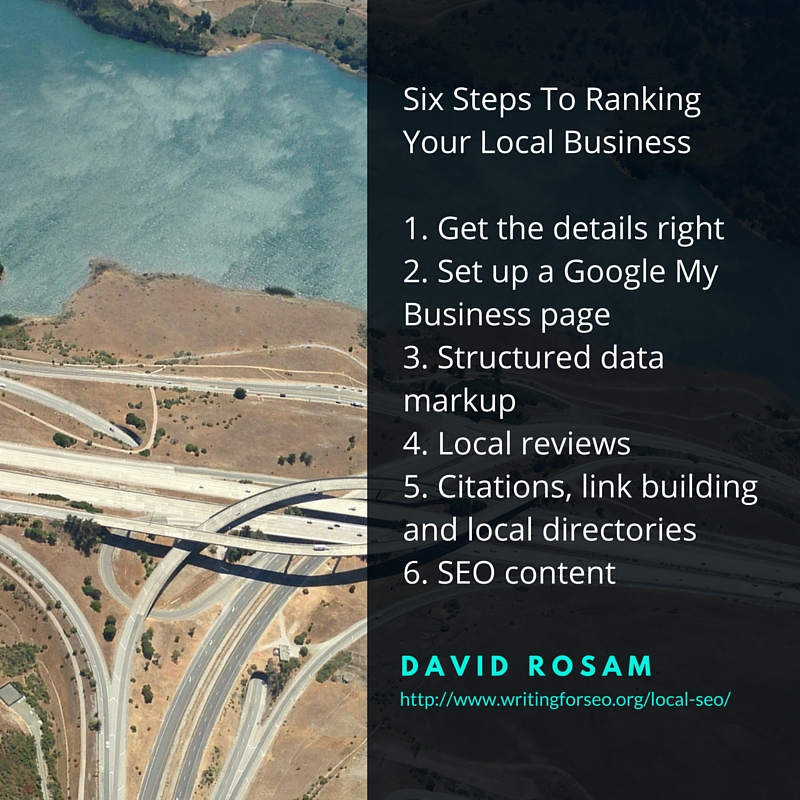 Sic Steps To Ranking Your Local Business