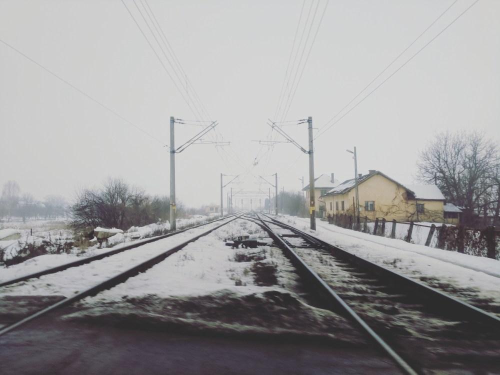 Visiting Romania - Railway Tracks