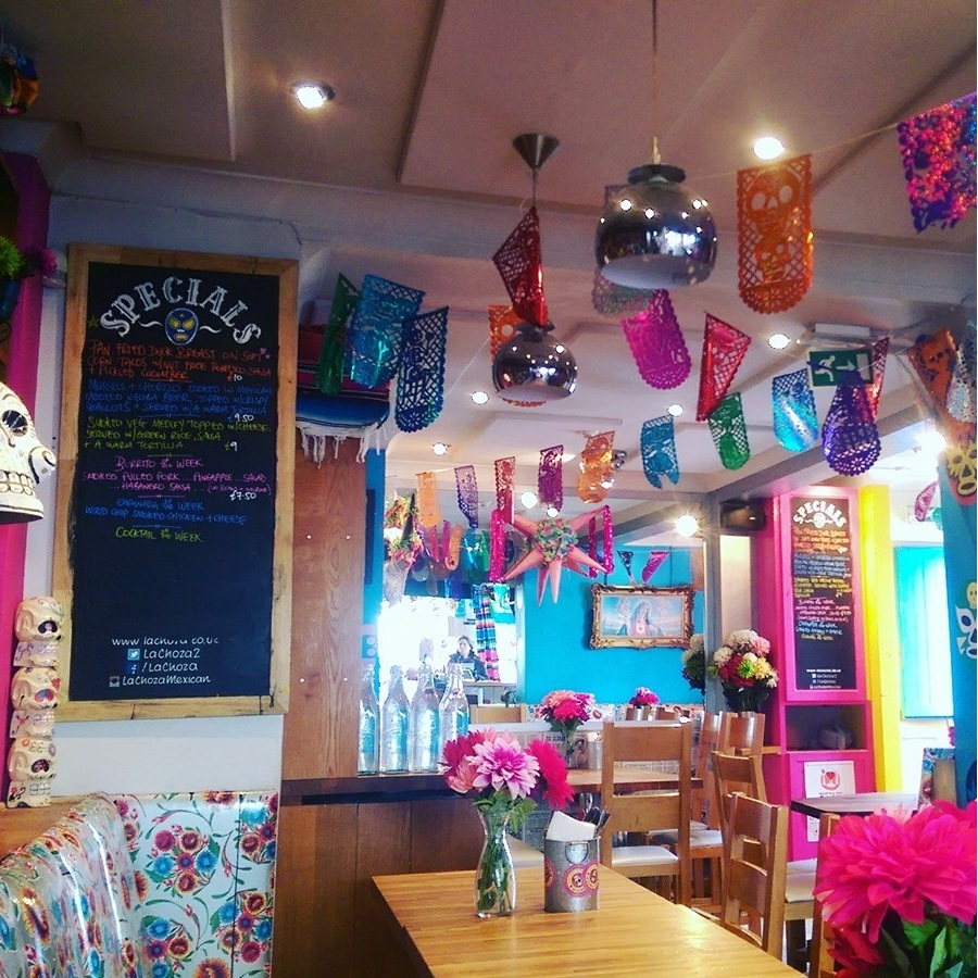 Visiting Brighton La Choza Mexican Restaurant Brighton