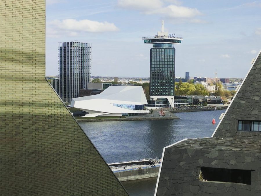 River IJ Eye Museum Amsterdam