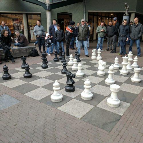 Chess Max Euwe MaxEuwesplein