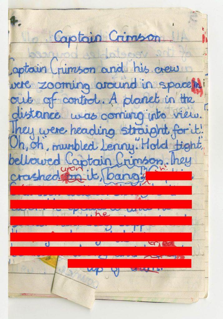 Extract One Captain Crimson