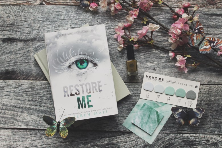 Възстанови ме (Разбий ме #4) : Четвърта част след четири години