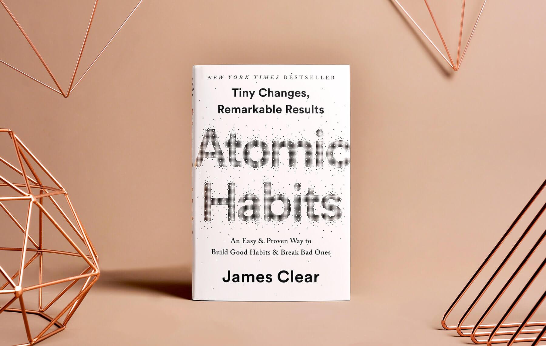 """""""Атомни навици"""" на Джеймс Клиър"""