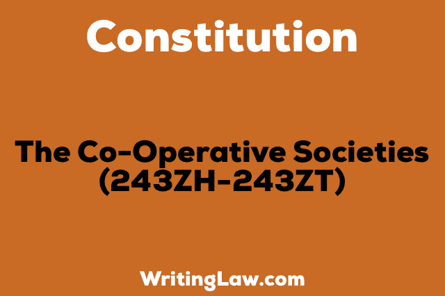 THE CO-OPERATIVE SOCIETIES