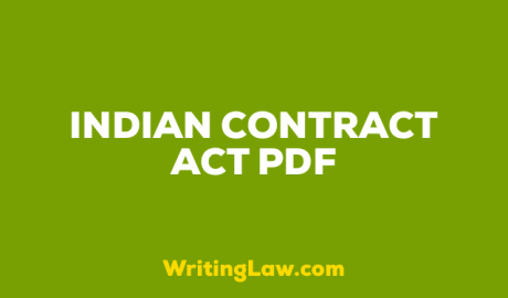 Indian Contract Act PDF Download