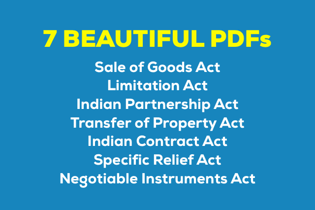 Indian Contract Act 1872 Bare Act Pdf