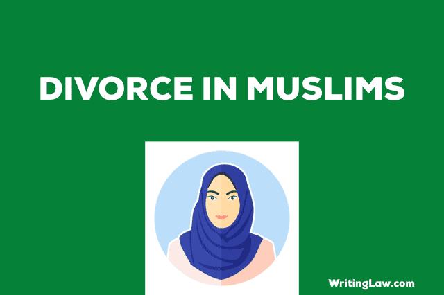 Divorce in Muslims