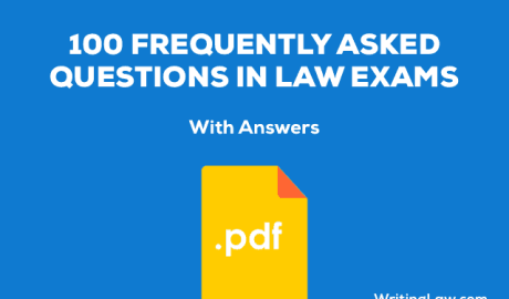 100 Frequently Asked Questions with Answers in Judiciary Exams