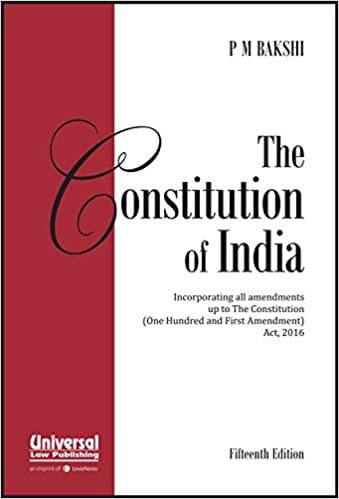 Constitution of India by PM Bakshi