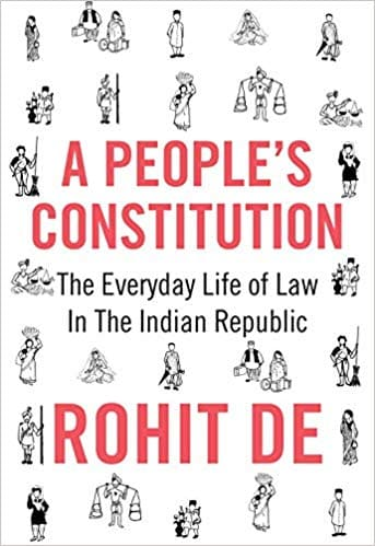 Constitution of India by Rohit De