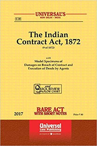 Contract Act Bare Act Universal