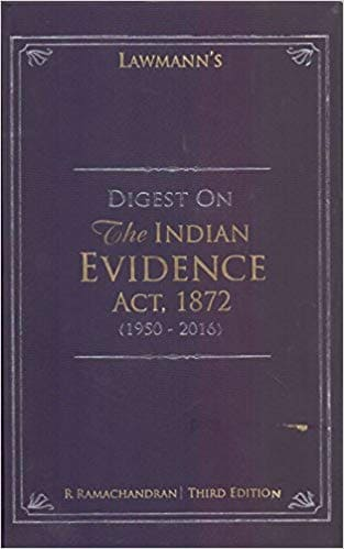 Evidence Act by R Ramachandran