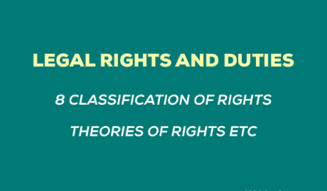 Legal Rights and Duties Notes