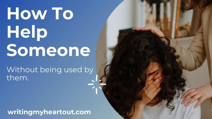 How to help someone
