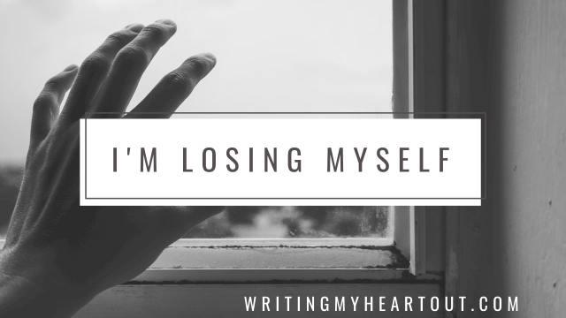 Losing myself poem