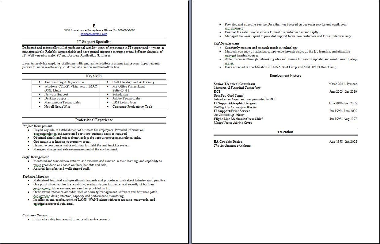 information technology support sample resume resume builder information technology support sample resume technical support resume sample job interview career guide sample resume writing