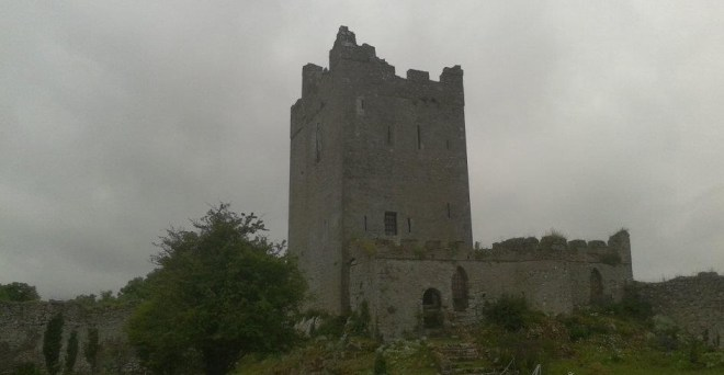 Clononey Castle - a Mac Coughlan castle given by Henry VIII to Thomas Boleyn in return for Anne Boleyns hand in marraige